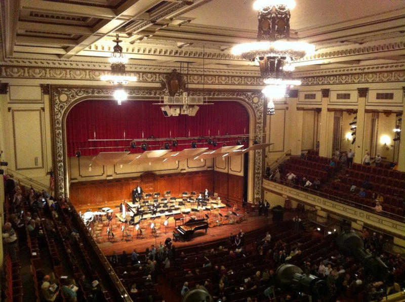 Springfield's Classical Revival Symphony Hall.