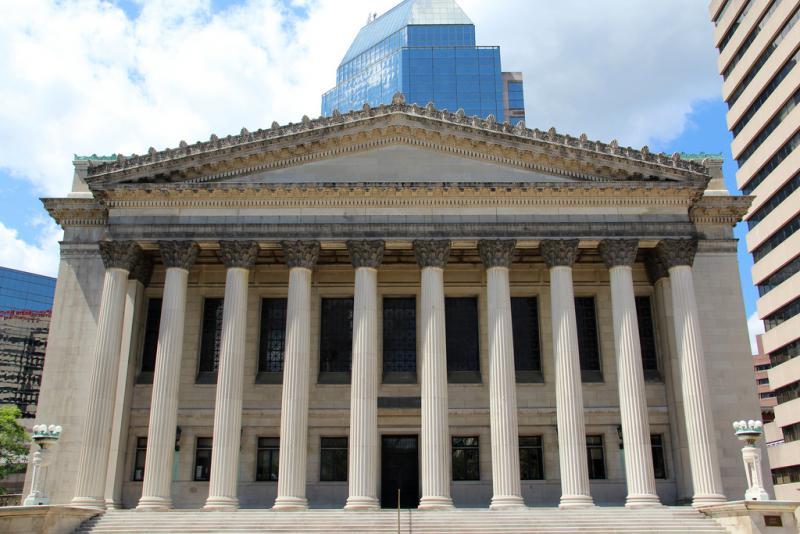 City Hall in Springfield, Massachusetts.