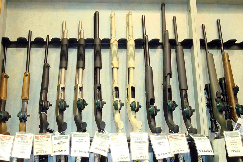 Guns for sale in Millbury, Massachusetts.
