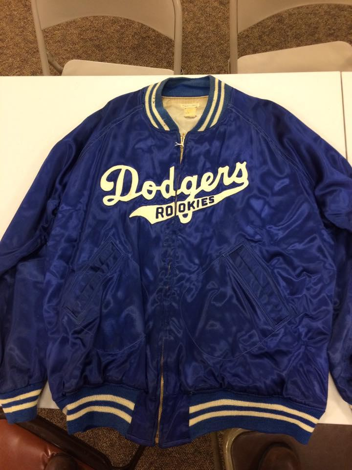 Ed Ladley's Dodgers' Rookie League jacket is being donated to the National Baseball Hall of Fame.