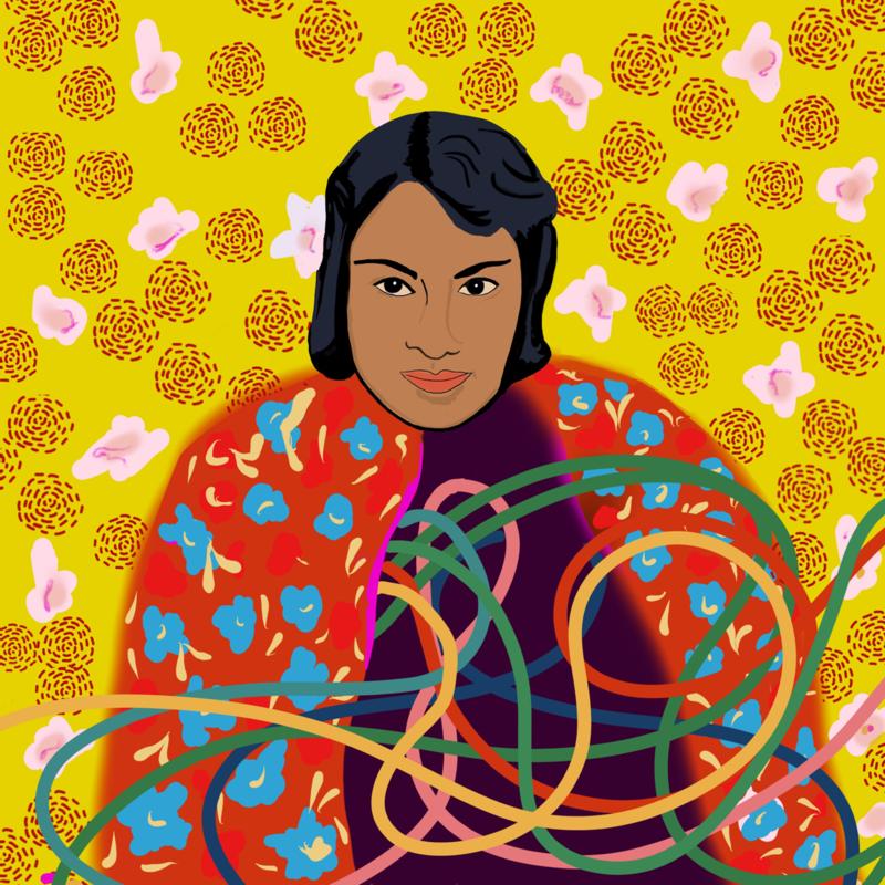 Zapotec poet Irma Pineda