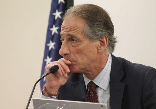 Cannabis Control Commission Chairman Steven Hoffman heads the group responsible for setting up the regulations for legal, recreational marijuana use in Massachusetts.