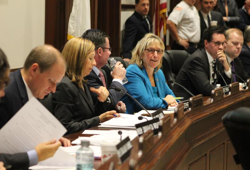 Sen. Karen Spilka Wednesday claimed support from enough of her colleagues to become the next Senate president.