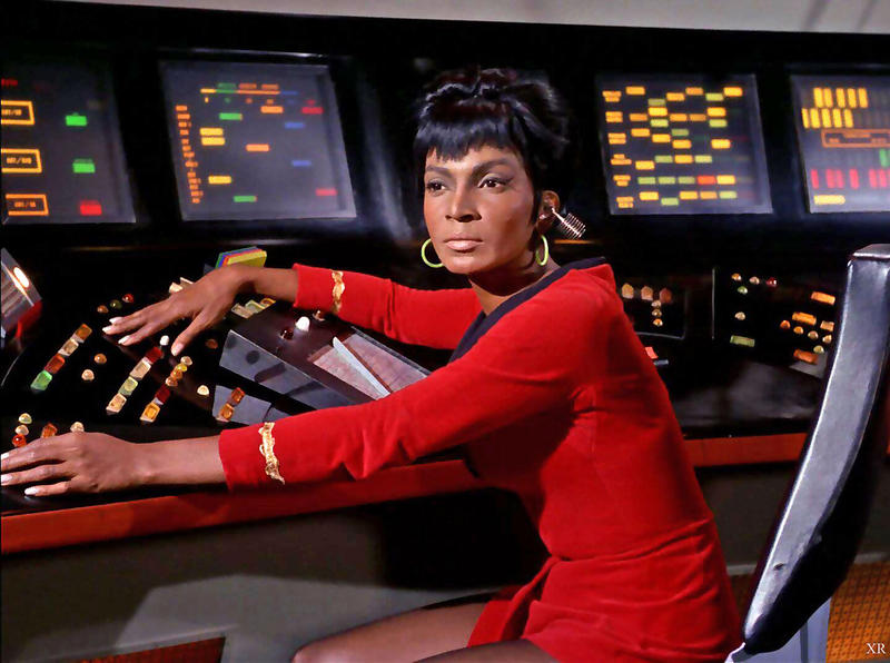 Nichelle Nichols, who played Uhura on the TV series