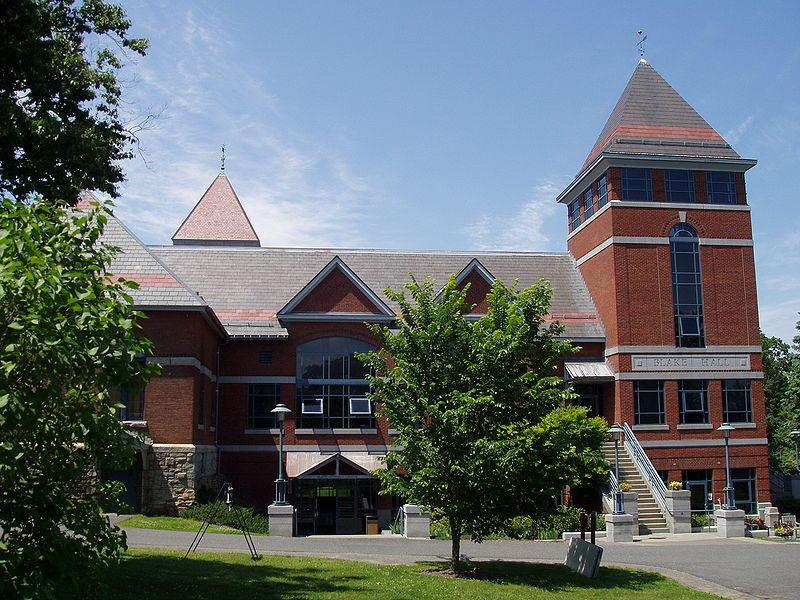Blake Hall at Northfield Mount Hermon School in Gill, Massachusetts.