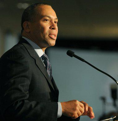 Former Massachusetts Governor Deval Patrick.