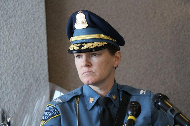 State Police Colonel Kerry Gilpin.