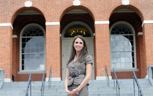 Massachusetts state Rep. Diana DiZoglio in a campaign handout image.