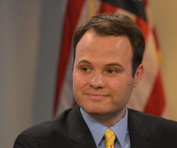 Massachusetts state Sen. Eric Lesser in a file photo.