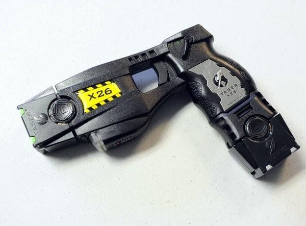 The Taser X26 Electronic Control Device (ECD) made by Taser International, Inc.