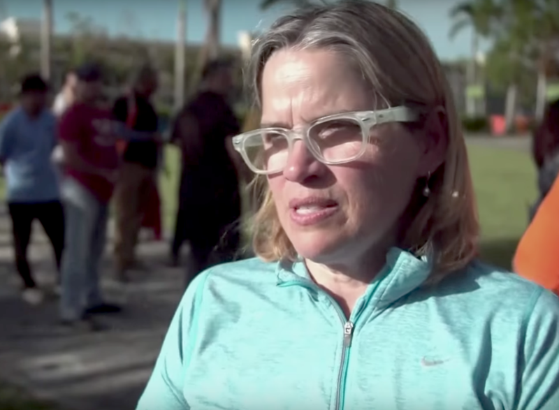 San Juan Mayor Carmen Yulin Cruz in a PBS NewsHour video from October 2017.
