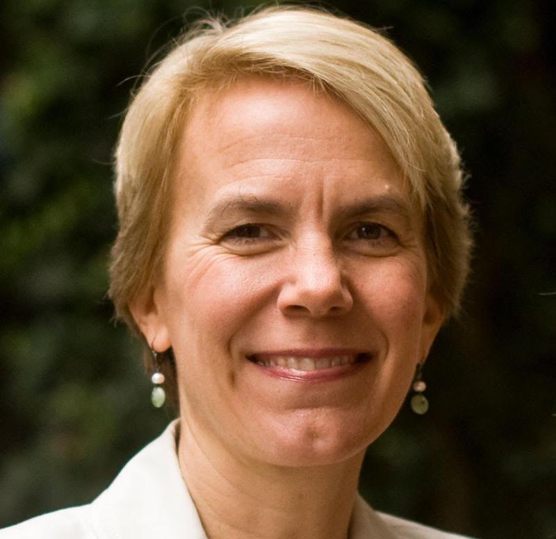 Hampshire College President Miriam Nelson.