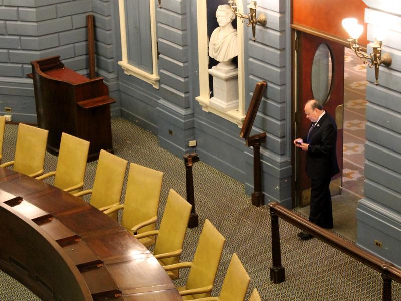 Sen. Stanley Rosenberg, onetime leader of the Massachusetts Senate chamber, left Beacon Hill under duress after a three-decade career.