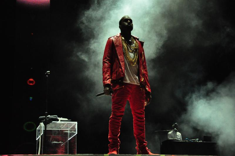 Kanye West performing in 2011.