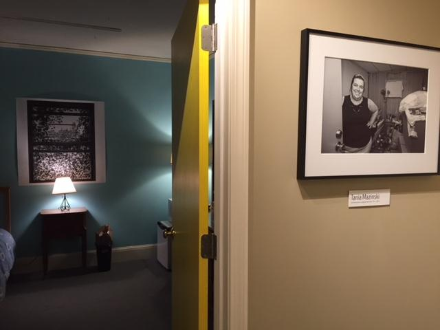 An exhibit at Historic Northampton recreates a room at Northampton Lodging.
