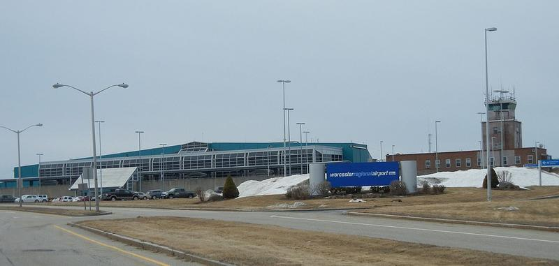 Worcester Regional Airport, in 2014.