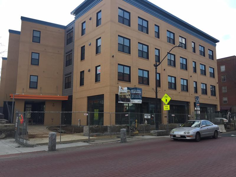 The new Live155 housing complex in Northampton, Massachusetts.