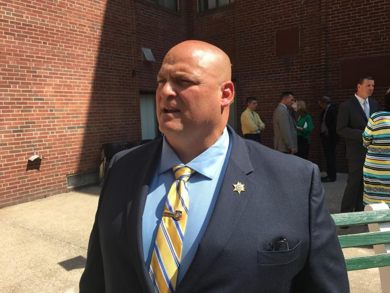 Hampden County Sheriff Nick Cocchi in Springfield, Massachusetts.