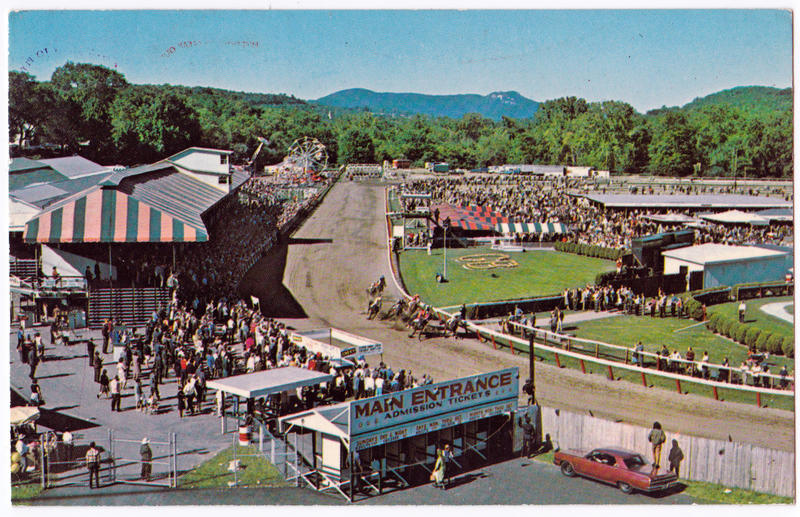 Live racing was popular at the Great Barrington Fairgrounds in the last century.