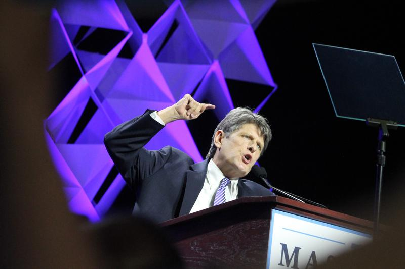 Bob Massie, who received support from 30 percent of voting Massachusetts Democratic Party delegates, said he is