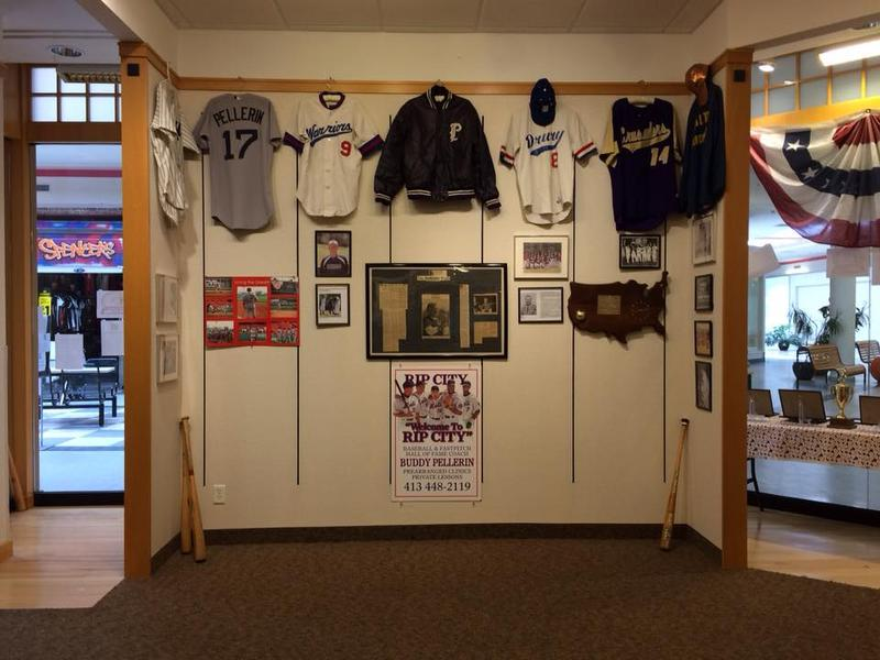 Inside the Baseball in the Berkshires Museum in the Berkshire Mall.