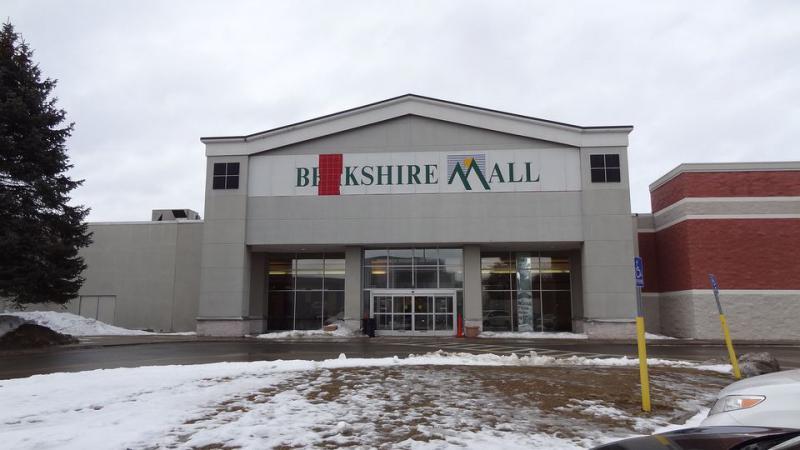 The Berkshire Mall in Lanesbourough, Massachusetts.