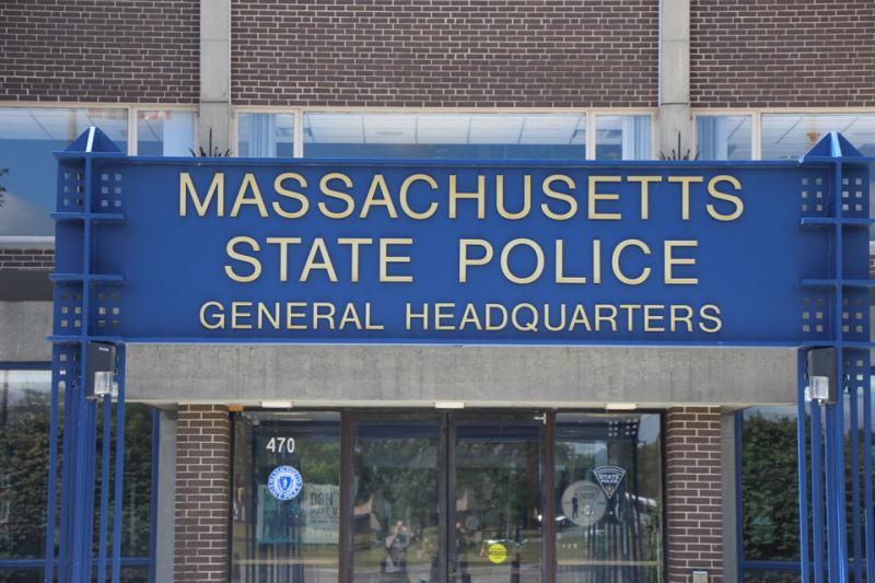 The Massachusetts State Police General Headquarters.