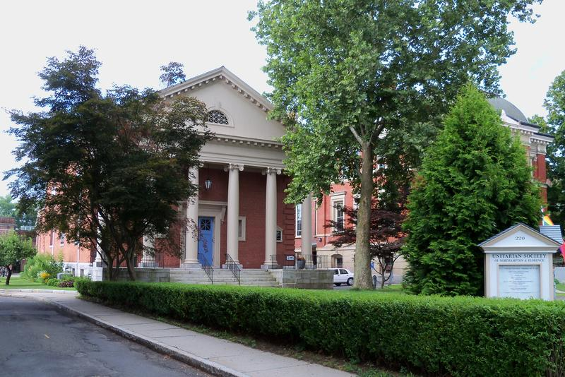 The Unitarian Society of Northampton and Florence located in Northampton, Massachusetts.