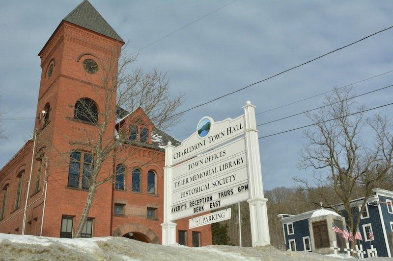 Charlemont Town Hall.