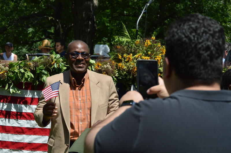 On July 4, 2018, more than 150 immigrants from 50 countries were officially declared U.S. citizens during a ceremony in Sturbridge, Massachusetts.