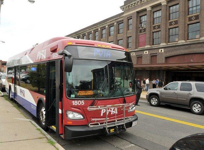 A PVTA bus.