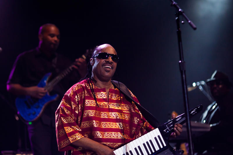 Stevie Wonder performs in Austin, Texas, in 2011.