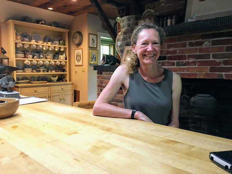 "Author Natasha Lowe says she wrote ""Lucy Castor Finds Her Sparkle"" in her kitchen in Deerfield, Massachusetts."