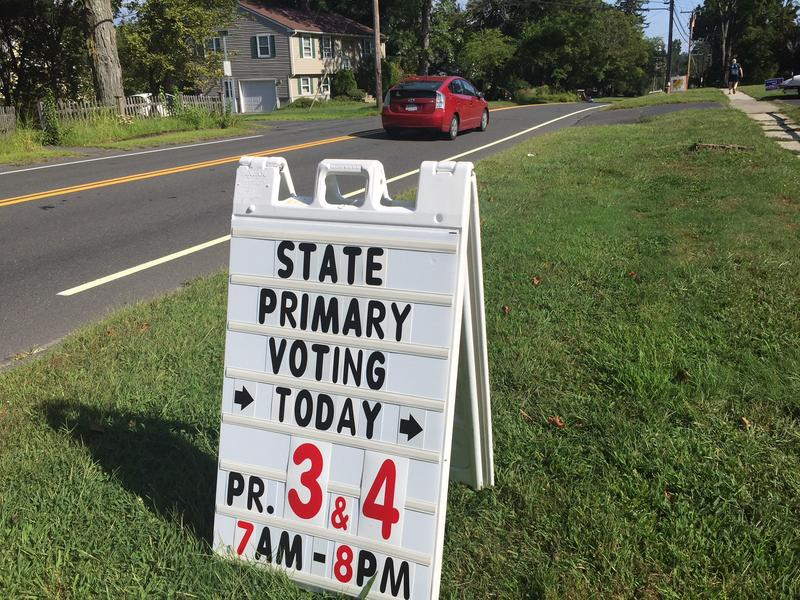 A polling place in western Massachusetts.