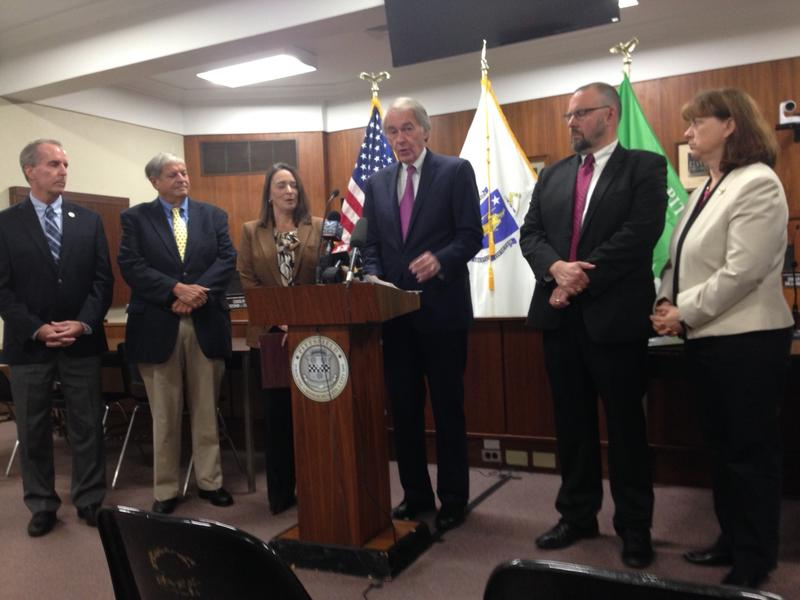 U.S. Senator Ed Markey and Berkshire County officials talk about Markey's legislation aiming to restore Massachusetts TV stations to the region's cable customers.