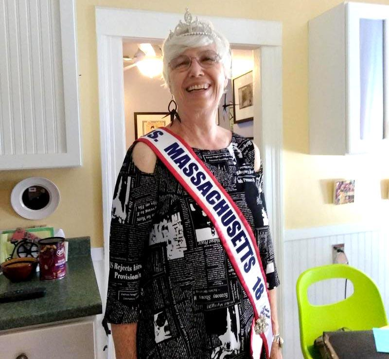 Marcia Morrison, Ms. Senior Massachusetts 2018, spent months preparing for the national Ms. Senior America contest held in Atlantic City on October 18, 2018.