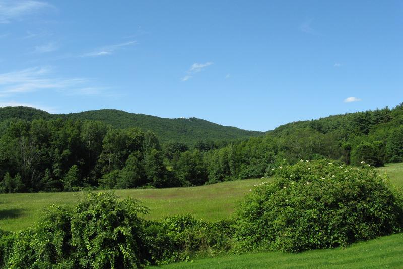 Mt. Holyoke in South Hadley, Massachusetts.