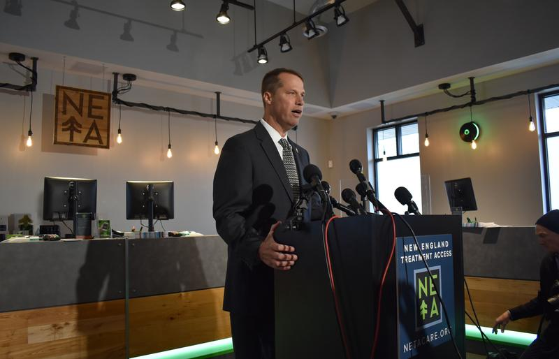 Mayor David Narkewicz of Northampton, Massachusetts, said he'll be the first person to buy non-medical marijuana from a retail shop in his city on Tuesday.