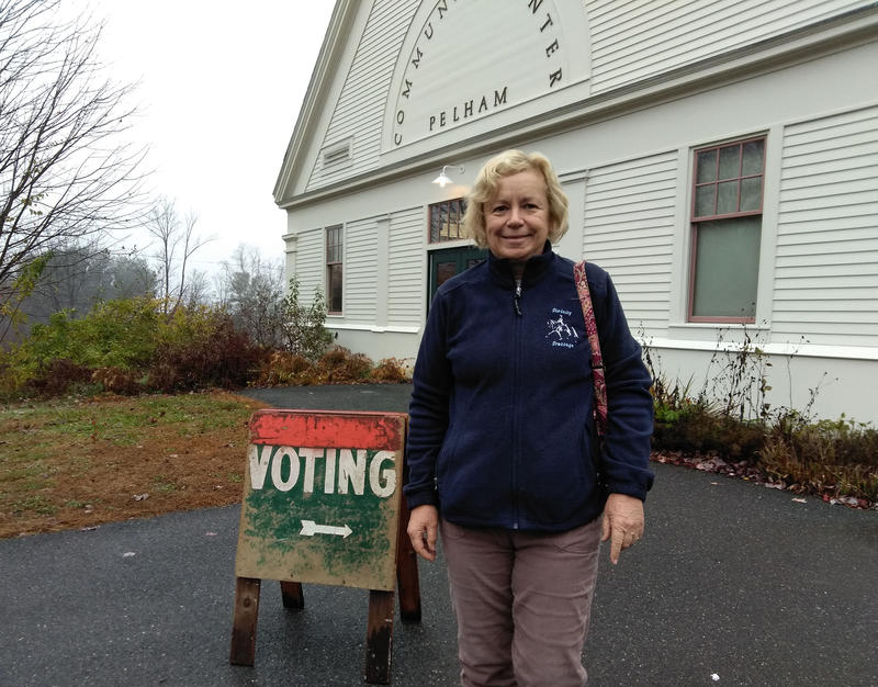 Tina Archer in Pelham, Massachusetts.
