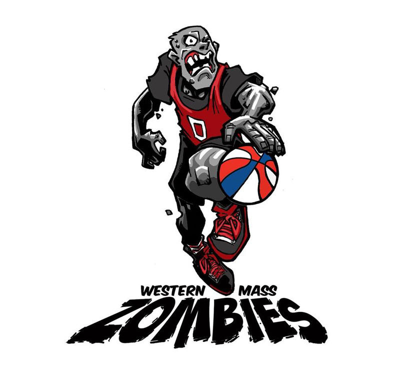 The Western Mass Zombies' new logo.