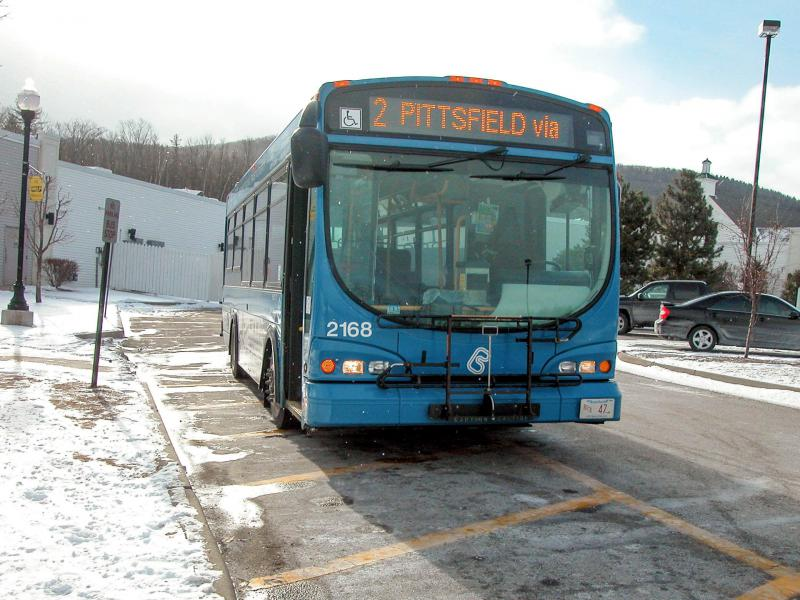 A Berkshire Regional Transit Authority bus