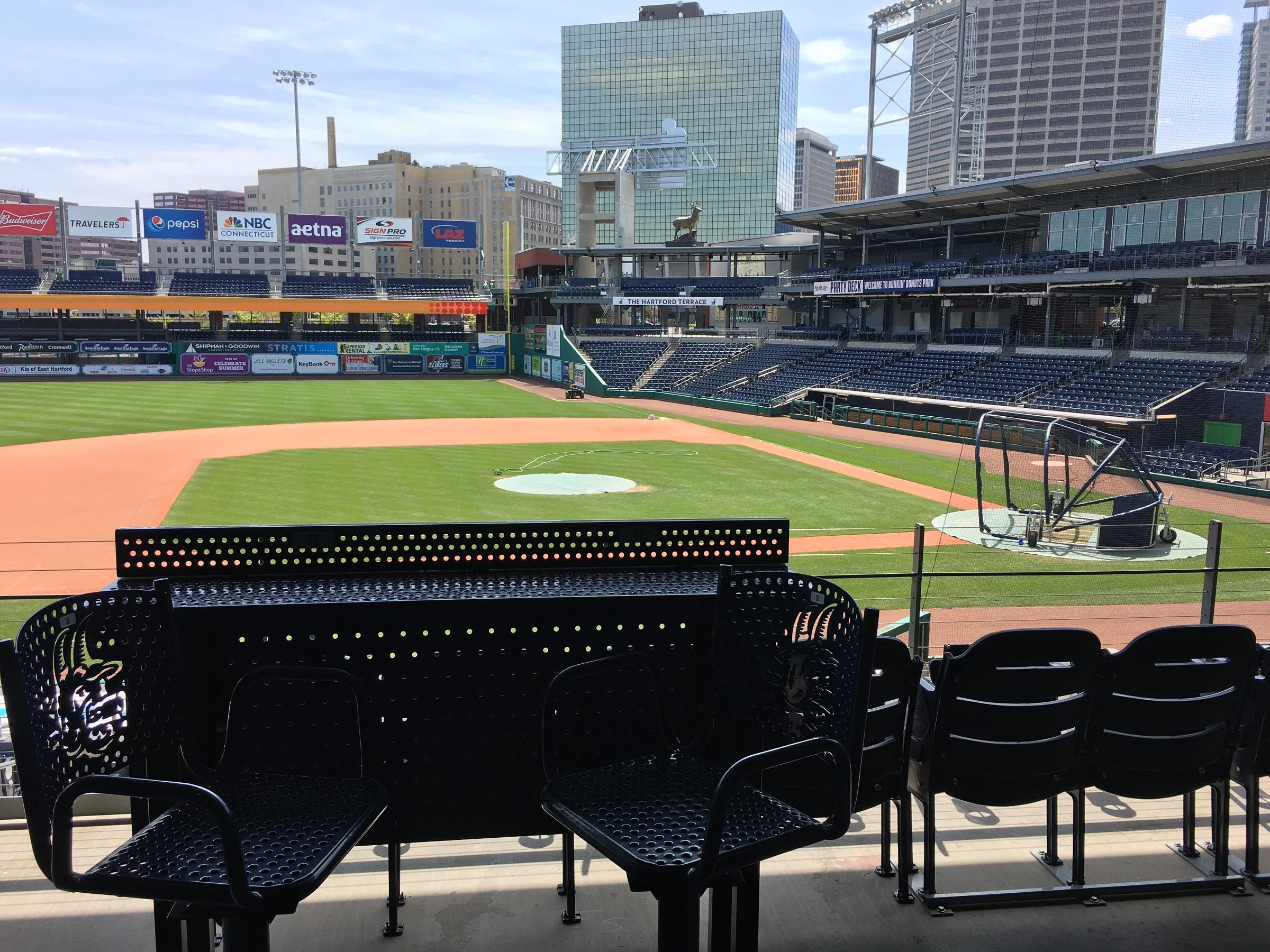 Dunkin Donuts Park in Hartford Connecticut