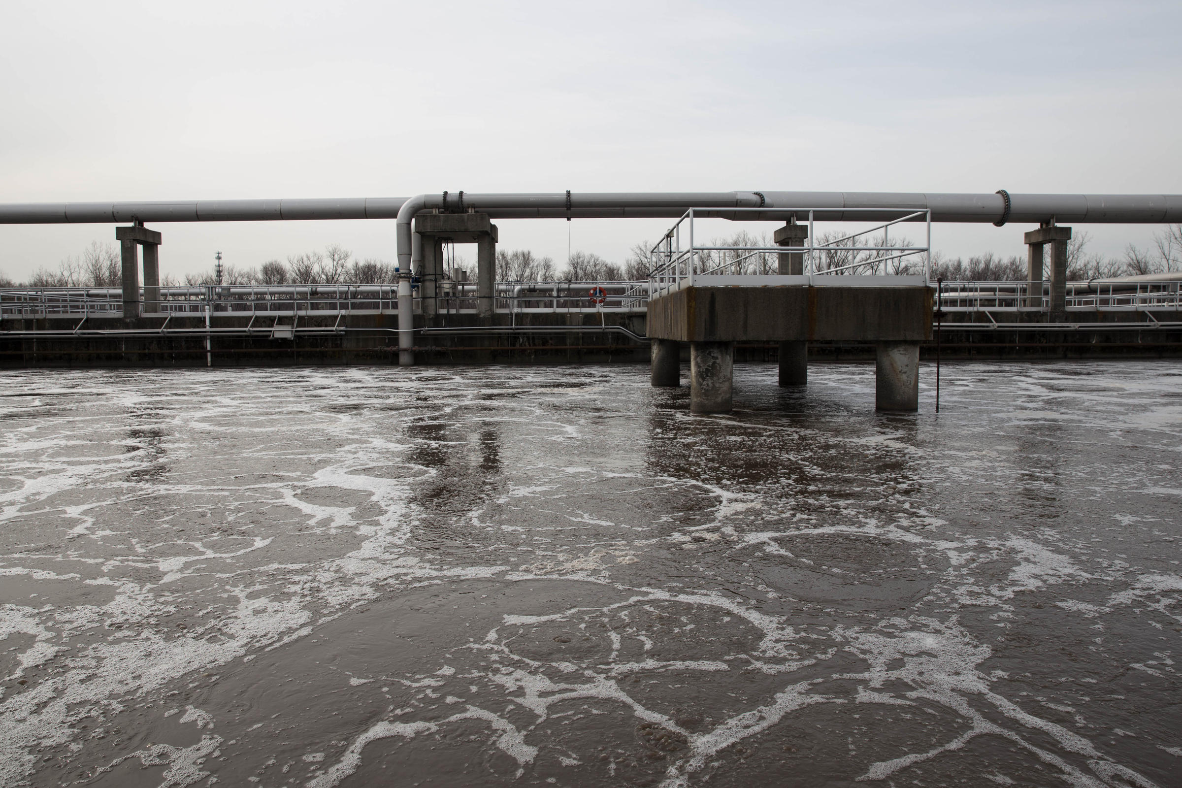 Epa will soon issue years overdue permit to springfield mass the activated sludge system the heart of the water treatment plant at springfield water and sewer where wastewater is treated before going into the sciox Gallery