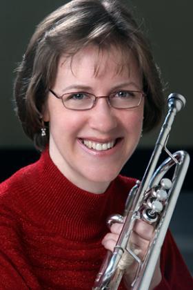 Trumpeter Judith Saxton