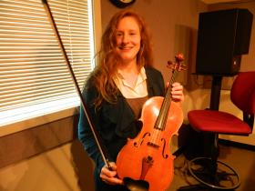Violist and UNCSA professor Sheila Browne