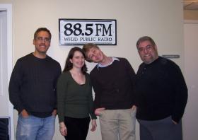 Twin City Stage actors Rene-Lynn Walek and Michael Ackerman and director Stan Bernstein.