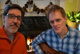 Writer Ray Morrison and singer/songwriter Jeffrey Dean Foster.