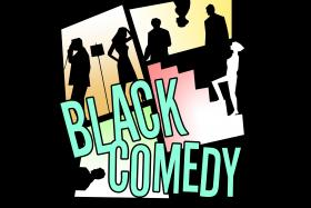 No Rules Theatre Company Presents Black Comedy.