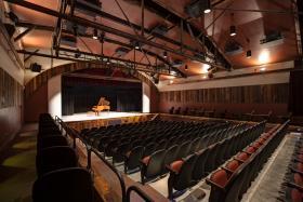 Yadkin Cultural Art Center's new Willingham Theatre.