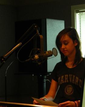 Radio Camper Sophia Lyons records her story.